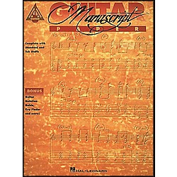 Hal Leonard Guitar Recorded Version Manuscript Paper (210043)