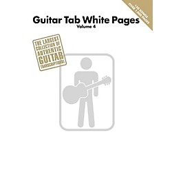 Hal Leonard Guitar Tab White Pages - Volume 4 (691165)