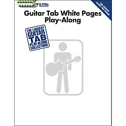Hal Leonard Guitar Tab White Pages Play-Along (Book/6-CD Pack) (701764)