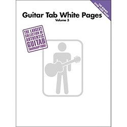 Hal Leonard Guitar Tab White Pages Volume 3 (690791)