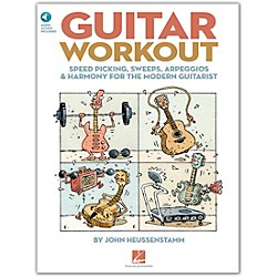 Hal Leonard Guitar Workout - Speed Picking Sweeps Arpeggios & Harmony For The Modern Guitarist BK/CD (696223)
