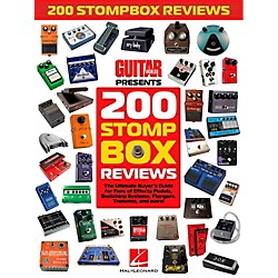 Hal Leonard Guitar World Presents 200 Stompbox Reviews (123825)