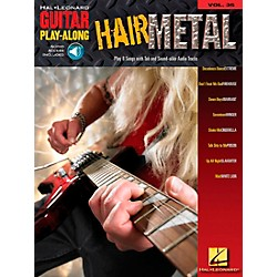 Hal Leonard Hair Metal Guitar Play-Along Series Volume 35 Guitar Tab Songbook with CD (699660)