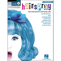 Hal Leonard Hairspray Pro Vocal Songbook For Female Singers Volume 30 Book/CD (740379)