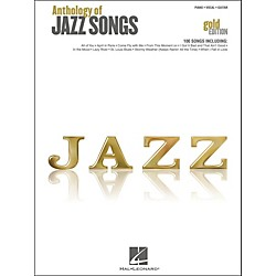 Hal Leonard Hal Leonard Anthology Of Jazz Songs - Gold Edition arranged for piano, vocal, and guitar (P/V/G) (311952)