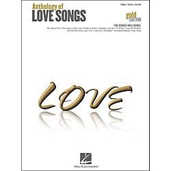 Hal Leonard Hal Leonard Anthology Of Love songs Gold Edition arranged for piano, vocal, and guitar (P/V/G) (311955)