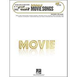 Hal Leonard Hal Leonard Anthology Of Movie Songs Gold Edition E-Z Play 345 (100284)