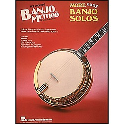 Hal Leonard Hal Leonard Banjo Method More Easy Banjo Solos (699516)