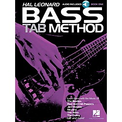 Hal Leonard Hal Leonard Bass Tab Method Book 1 Book/CD (113068)