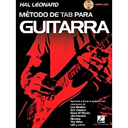 Hal Leonard Hal Leonard Guitar Tab Method Book 1 Book/CD (Spanish Edition) (114930)