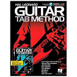Hal Leonard Hal Leonard Guitar Tab Method Books 1 & 2 Combo Edition Book/2CD Pack (696633)