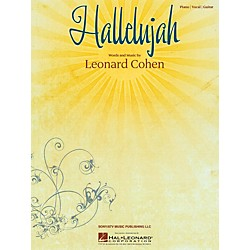 Hal Leonard Hallelujah by Leonard Cohen arranged for piano, vocal and guitar (353824)