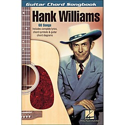 Hal Leonard Hank Williams - Guitar Chord Songbook (700607)