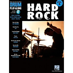 Hal Leonard Hard Rock Drum Play-Along Series Songbook with CD (699743)