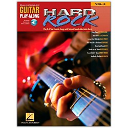 Hal Leonard Hard Rock Guitar Play-Along Series Volume 3 Book with CD (699573)