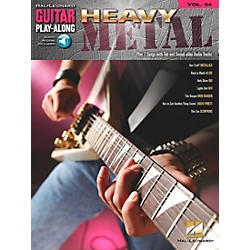 Hal Leonard Heavy Metal Guitar Play-Along Series Volume 54 (Book/CD) (699730)