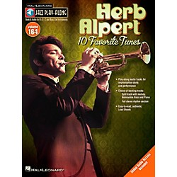 Hal Leonard Herb Alpert - Jazz Play-Along Volume 164 Book/CD (14041775)