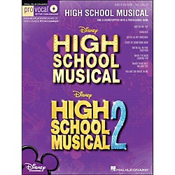 Hal Leonard High School Musical 1 And 2 Girls Edition - Pro Vocal Series Volume 28 Book/CD (740360)