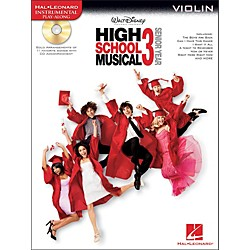 Hal Leonard High School Musical 3 For Violin - Instrumental Play-Along CD/Pkg (842380)