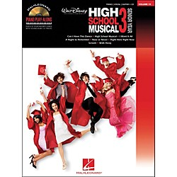 Hal Leonard High School Musical 3 Piano Play-Along Volume 72 Book/CD arranged for piano, vocal, and guitar (P/V/ (311826)