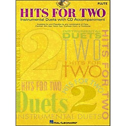 Hal Leonard Hits For Two (Instrumental Duets) For Flute Book/CD Pkg (841592)