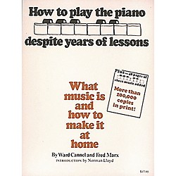 Hal Leonard How To Play Piano Despite Years of Lessons - Book (312621)