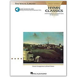 Hal Leonard Hymn Classics For High Voice Book/CD Pkg (740033)