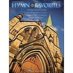 Hal Leonard Hymn Favorites Intermediate Piano Duet 1 Piano, 4 Hands (290555)