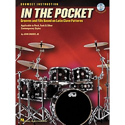 Hal Leonard In the Pocket - Grooves and Fills Based on Latin Clave Patterns (Book/CD) (6620092)