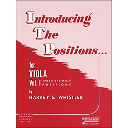 Hal Leonard Introducing The Positions For Viola Vol 1 Third And Half Positions (4472790)