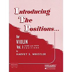 Hal Leonard Introducing The Positions Violin Vol. 1 by Whistler (4472550)