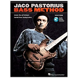 Hal Leonard Jaco Pastorius Bass Method - Book/CD (695570)