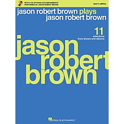 Hal Leonard Jason Robert Brown Plays Jason Robert Brown - Men's Edition Book/CD (230090)