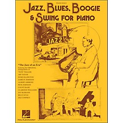 Hal Leonard Jazz, Blues, Boogie & Swing For Piano Solo (129210)