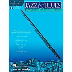 Hal Leonard Jazz And Blues Playalong Solos For Flute Book/CD (841438)