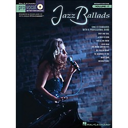 Hal Leonard Jazz Ballads - Pro Vocal Songbook & CD For Female Singers Volume 17 (740353)