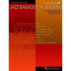 Hal Leonard Jazz Ballads For Singers - Women's Edition Book/CD (740258)