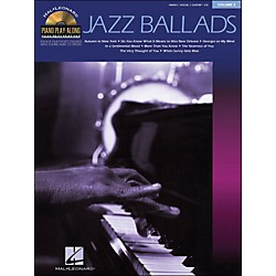 Hal Leonard Jazz Ballads Piano Play-Along Volume 2 Book/CD arranged for piano, vocal, and guitar (P/V/G) (311073)