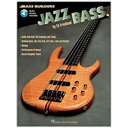 Hal Leonard Jazz Builders Jazz Bass (Book/CD) (695084)