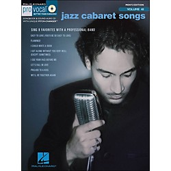 Hal Leonard Jazz Cabaret Songs - Pro Vocal Series Vol. 48 For Male Singers Book/CD (740404)