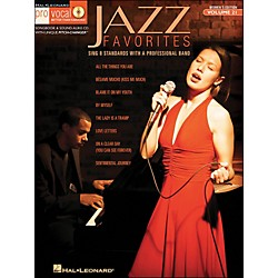 Hal Leonard Jazz Favorites - Pro Vocal Series Vol. 21 For Female Singers Book/CD (740354)