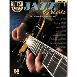 Hal Leonard Jazz Greats - Guitar Play-Along Volume 44 Book/CD (699689)