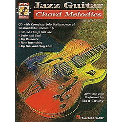 Hal Leonard Jazz Guitar Chord Melodies Guitar Tab Songbook with CD (698988)