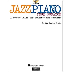 Hal Leonard Jazz Piano From Scratch Book/CD A How-To Guide For Students And Teachers (290534)