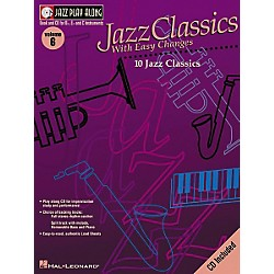 Hal Leonard Jazz Play-Along Series Jazz Classics With Easy Changes Book with CD (841690)