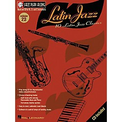 Hal Leonard Jazz Play-Along Series Latin Jazz Book with CD (843016)