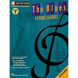 Hal Leonard Jazz Play-Along Series The Blues Book with CD (841646)