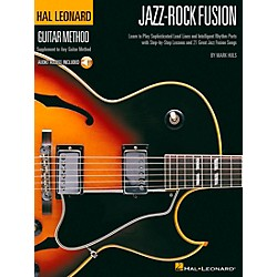 Hal Leonard Jazz-Rock Fusion Guitar Stylistic Supplement To The Hal Leonard Guitar Method Book/CD (697387)