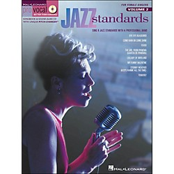 Hal Leonard Jazz Standards For Female Singers Pro Vocal Series Volume 2 Book/CD (740249)