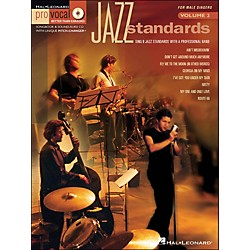 Hal Leonard Jazz Standards For Male Singers - Pro Vocal Series Volume 2 Book/CD (740250)